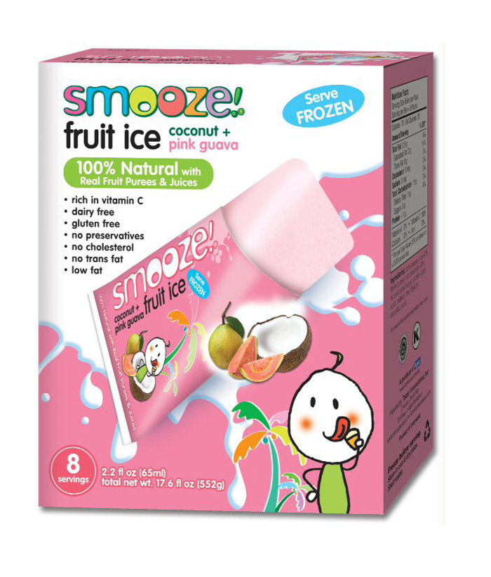 Smooze Fruit Ice - a fun refreshing snack that's also all natural and dairy-free!