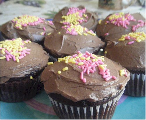 pamela's chocolate cake and dark chocolate frosting mixes