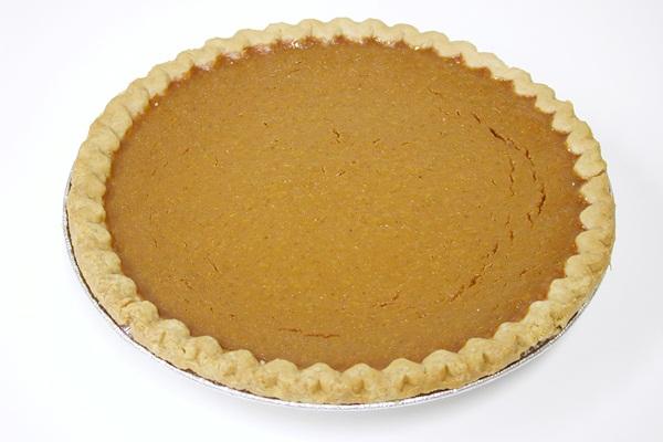 Almost Paula Deen's Pumpkin Pie - Go Dairy Free