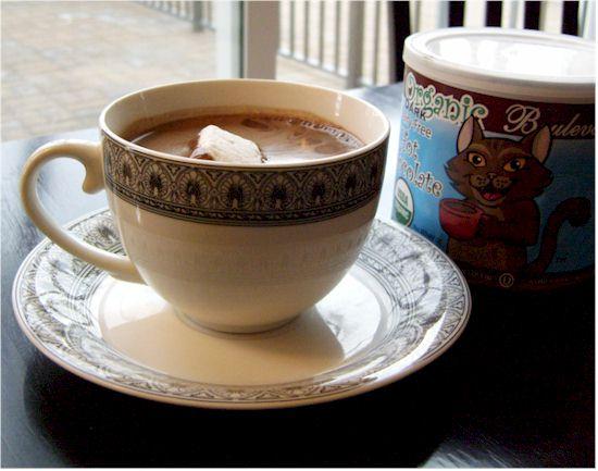 Bouldevard's Dairy Free Hot Chocolate