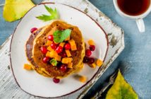 Dairy-Free Pumpkin Pancakes Recipe (makes good waffles too!) - Better than Martha's Recipe. Vegan / egg-free option included.