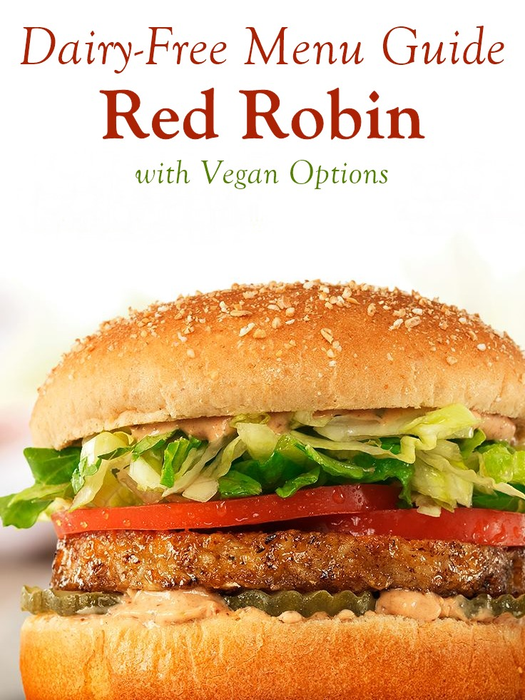 Red Robin Dairy-Free Menu Guide with Vegan Options and Allergen Notes