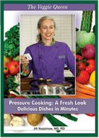 The Veggie Queen Pressure Cooker DVD