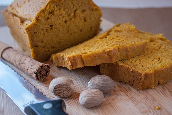 Sweet Dairy-Free Pumpkin Bread Recipe