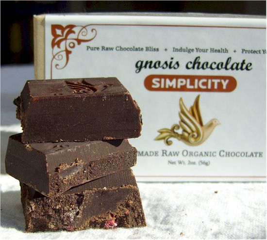 Gnosis Raw Chocolate - Vegan, Dairy-Free