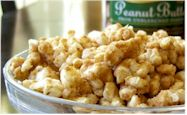 Peanut Butter Cinnamon Popcorn or Rice Cakes