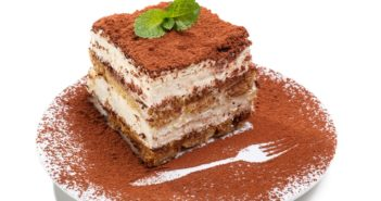 Vegan Chai Tiramisu Recipe - also nut-free! Homemade lady fingers.