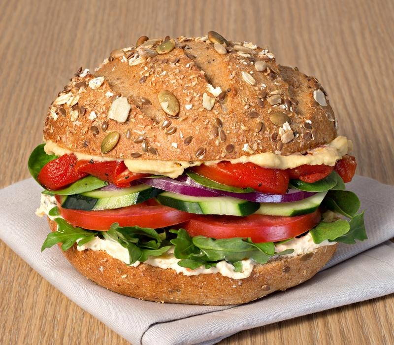 Einstein Bros. Bagels - New Vegan Shmear! And all of the dairy-free options at these U.S. bagel and coffee shops.