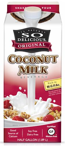So Delicious Coconut Beverage - Dairy-Free, Soy-Free
