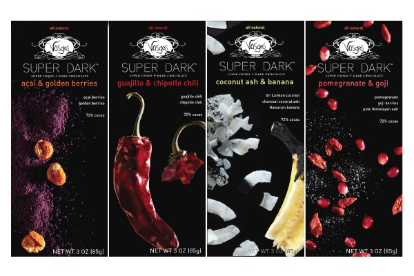 Vosges Chocolate Boutique offers a delicious dairy-free dark chocolate selection into the late night in Las Vegas