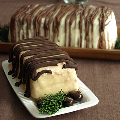 Dedadent Dairy-Free French Yule Log Recipe