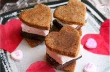 Sweetheart S'mores Recipe for Valentine's Day and beyond. Vegan, gluten-free, dairy-free, egg-free, nut-free, and soy-free treats that are SO EASY!