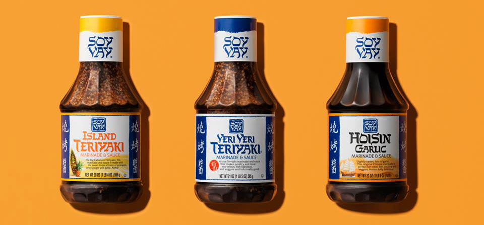 Soy Vay Marinades and Sauces