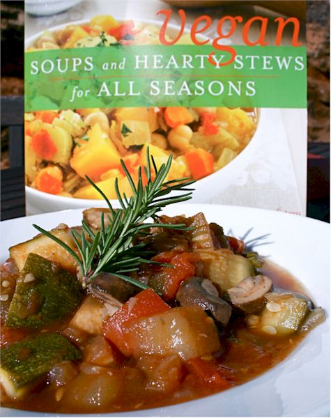 Cool Ratatoulle from Vegan Soups and Hearty Stews