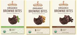 Erin Baker Organic Brownie Bites