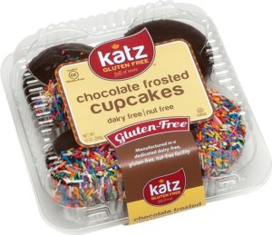 Katz Gluten Free Cakes and Cupcakes (Review) - made in a dairy-free, nut-free, kosher parve facility
