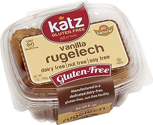 Katz Gluten Free Rugelach Reviews and Info - It's Free of Dairy, Nuts, and Soy, Too. Pictured: Vanilla
