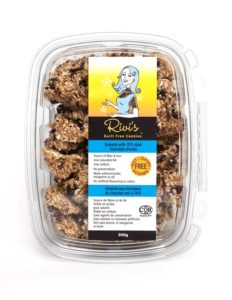 Rivi's Guilt Free Granola Cookies Review - dairy-free, nut-free, butter-free, oil-free, additive-free, low fat (sold in Canada)