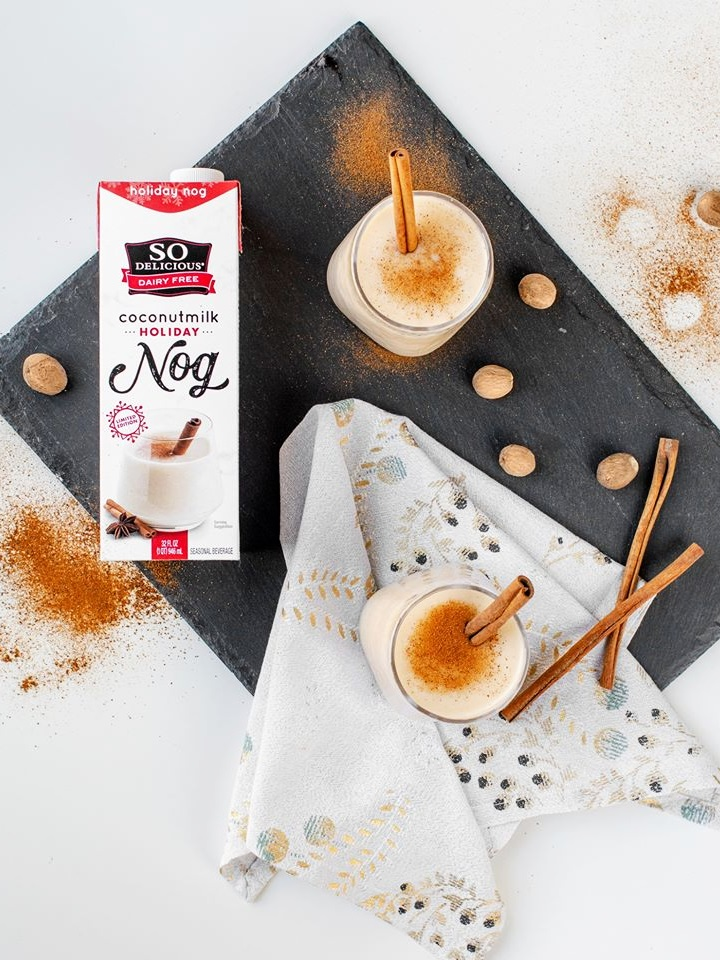So Delicious Coconut Milk Beverage is an Organic Dairy-Free Staple - Reviews and Info on this dairy-free, vegan, gluten-free, soy-free line of milk alternatives
