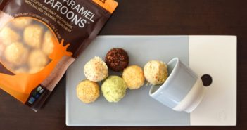 Snackaroons by Laughing Giraffe Organics - healthier, raw, vegan coconut macaroons in cool flavors! Love the Salted Caramel.