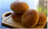 Homemade Wheat Hamburger Buns - dairy-free