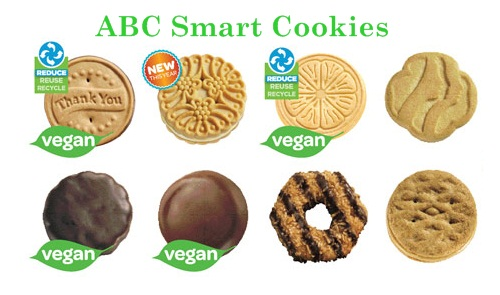 ABC Dairy-Free Girl Scout Cookies