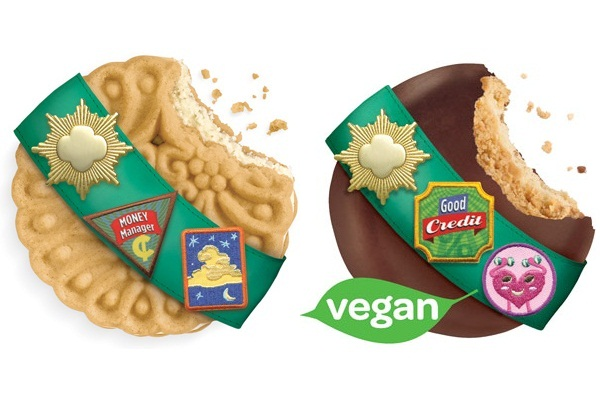 Vegan and Dairy-Free Girl Scout Cookies