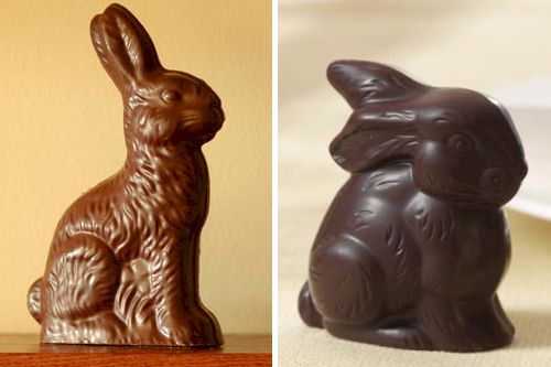 Vegan, Dairy-Free, and Gluten-Free Chocolate Easter Bunnies
