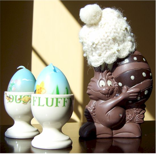 "Premium Chocolatier's Dairy-Free, Vegan ""Milk"" Chocolate Easter Bunny"