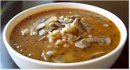 Alisa's Mushroom Barley Soup