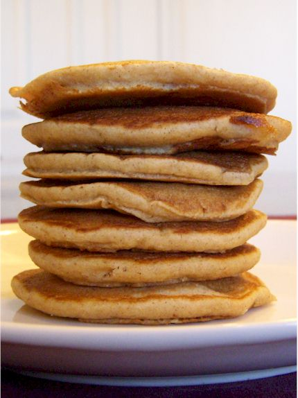 Dairy-Free Buttermilk Banana Pancakes - Easy to whip up and a serious breakfast treat!