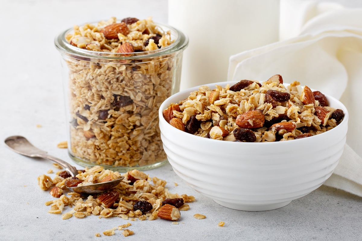 Dairy-Free Mother's Day Treat Recipes for Homemade Granola