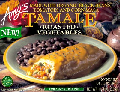 Amy's Tamale Roasted Vegetables Frozen Dinner