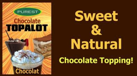 Chocolat Topalot from Purest (Dairy-Free Chocolate Topping)