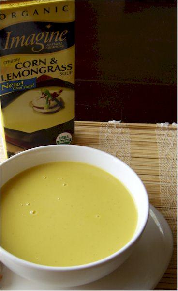 Imagine Creamy Corn & Lemongrass Soup
