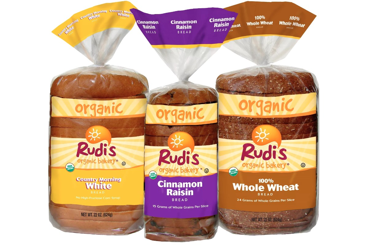Rudi's Organic Bakery Breads Reviews and Info - dairy-free, egg-free, certified organic, kosher pareve, and made in 17 different varieties!
