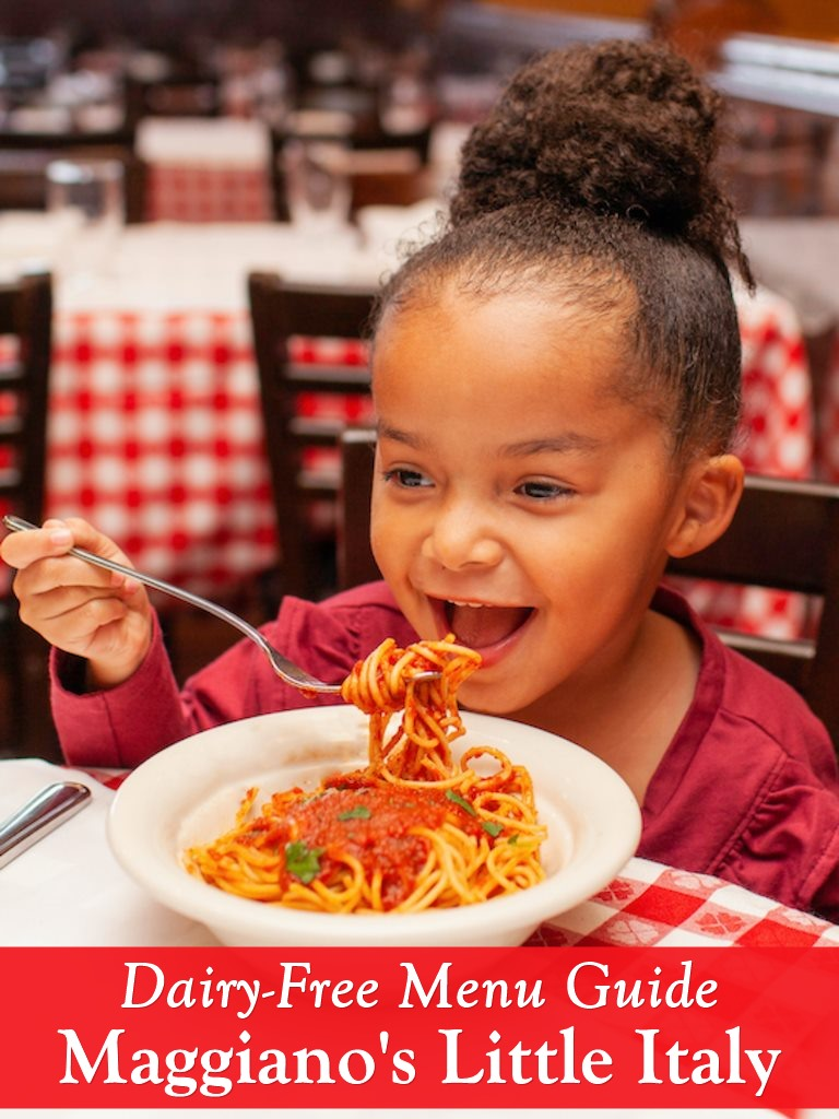 Maggiano's Little Italy Dairy-Free Restaurant Guide with Vegan Options - Allergy-Friendly Chain!