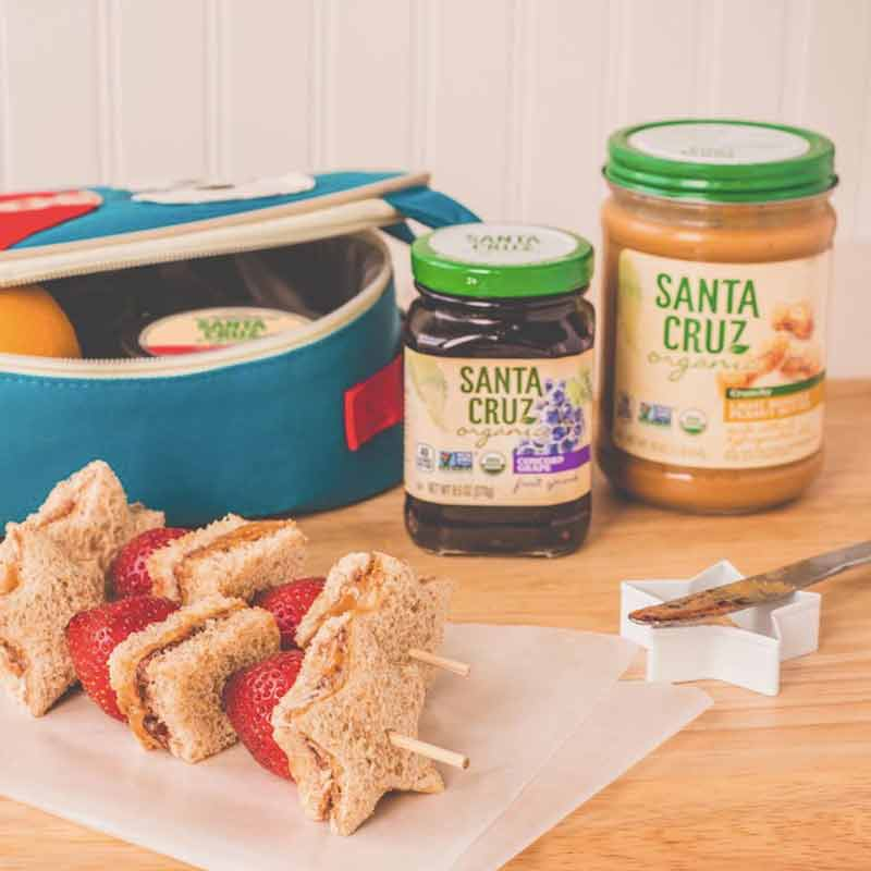 Santa Cruz Organic Peanut Butter - The most simple ingredients go into this high quality peanut butter!