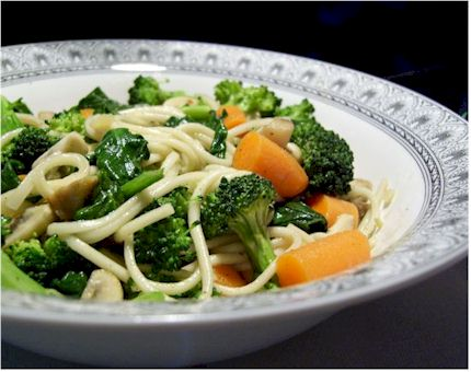 Easy Veggie Udon - Quick and Simple Vegan Meal