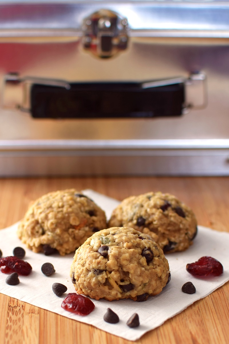 Cranberry Chocolate Chip Oatmeal Cookies Recipe (Dairy-Free)