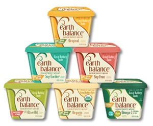Earth Balance Buttery Spreads - All dairy-free and vegan, soy-free options