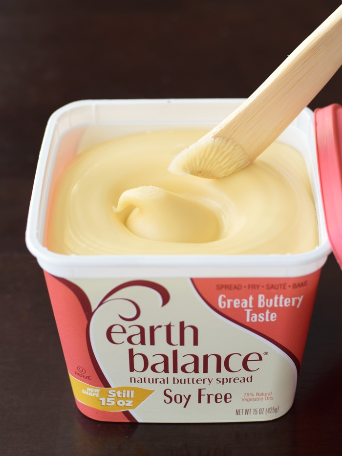 Earth Balance Buttery Spreads: A dairy-free and vegan staple (with soy-free options) that bakes, cooks, and spreads like margarine, but with natural ingredients and no hydrogenated oils