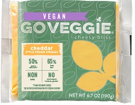 Go Veggie Vegan Cheese Singles - Dairy-free cheese alternative (be sure to pick the vegan one!)