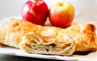 Apple Rhubarb Turnovers Recipe - Easy, Quick, Dairy-Free, Nut-Free and Vegan Optional