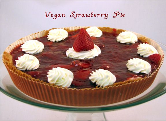 Bella's Vegan Strawberry Pie
