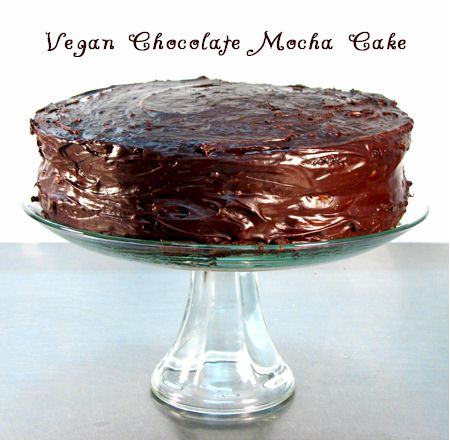 Bella's Chocolate Mocha Vegan Cake