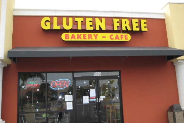 Island Gluten Free Bakery in Sarasota, FL also offers dairy-free and vegan options - voted a top gluten-free bakery in the US!!