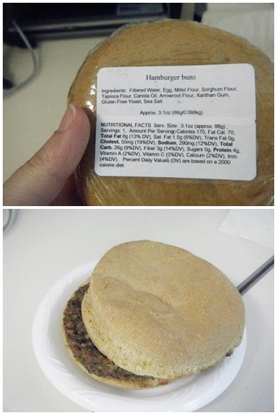 Island Gluten Free Bakery in Sarasota Florida ships nationwide (dairy-free Hamburger Buns pictured)