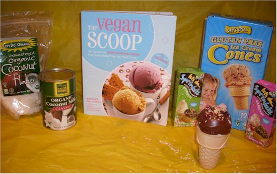 The Vegan Scoop Chocolate Ice Cream