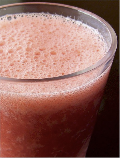 Dairy-Free Protein Packed Strawberry Julius